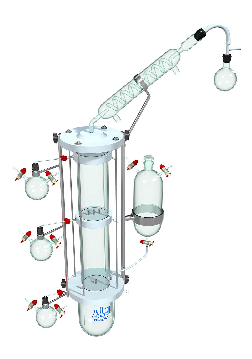 colonna per distillazione frazionata 2 LOW RES