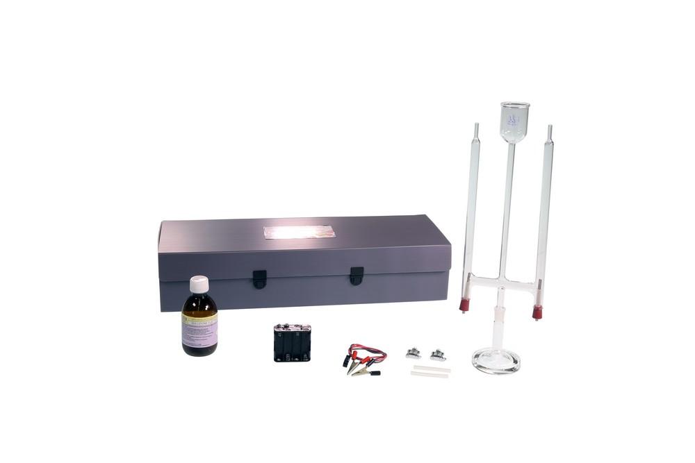 Voltametro di Hofmann con accessori