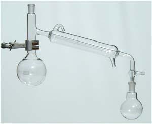 esperimenti di chimica APPARECCHIO DISTILLAZIONE A0015