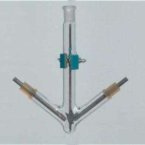 esperimenti di chimica CELLA ELETTROLISI CLORURO STANNOSO A0014